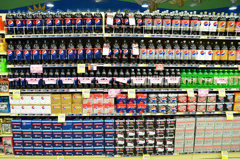 Pepsi Displays And Pepsi